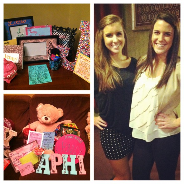 Not caring about spending so much for big/little reveal because you got the most perfect little. TSM.