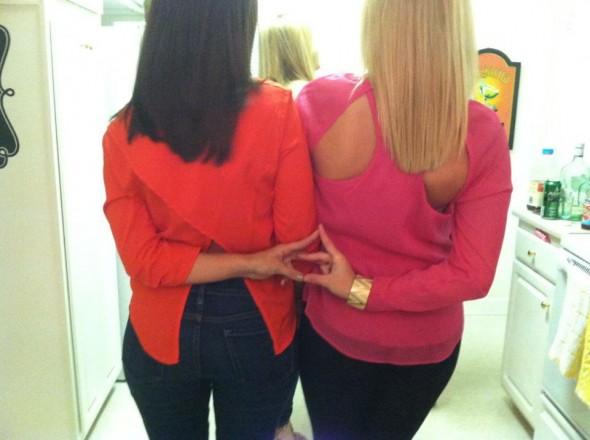 Every brunette needs a blonde G Little. TSM.