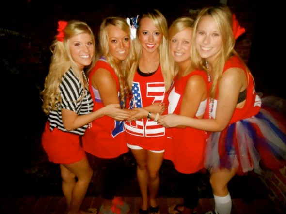 """SO much blonde in one family!"" TSM."