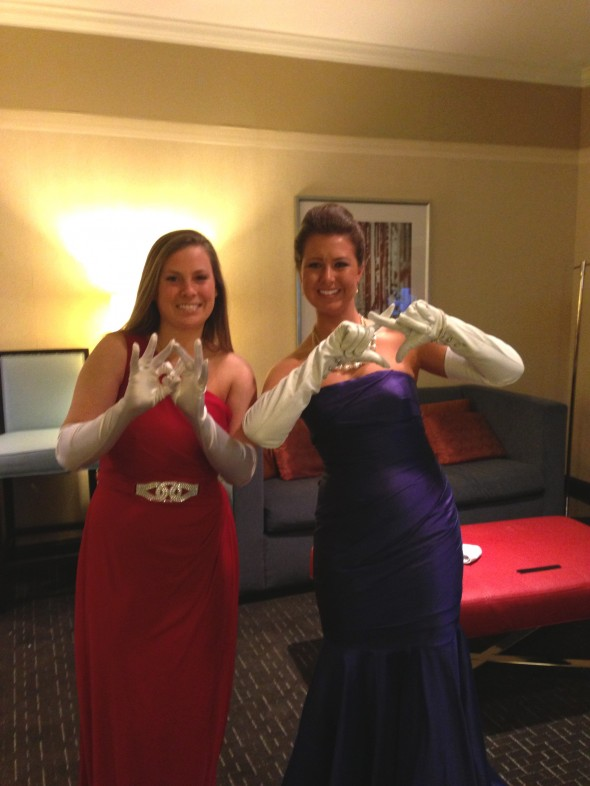 Throwing what you know in white gloves at the debutante ball. TSM.