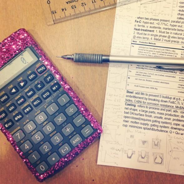 Elle Woods-ing my engineering exams. TSM.