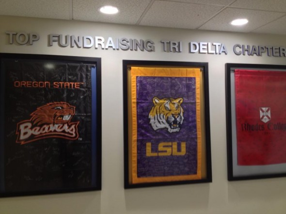Being one of the top fundraising chapters for our national philanthropy, St. Jude. TSM.