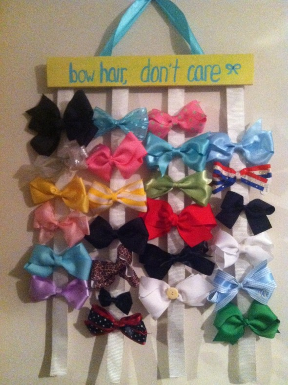Bow hair, don't care. TSM.