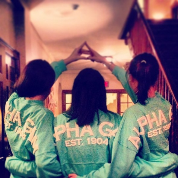 Spirit jerseys and black leggings. TSM.