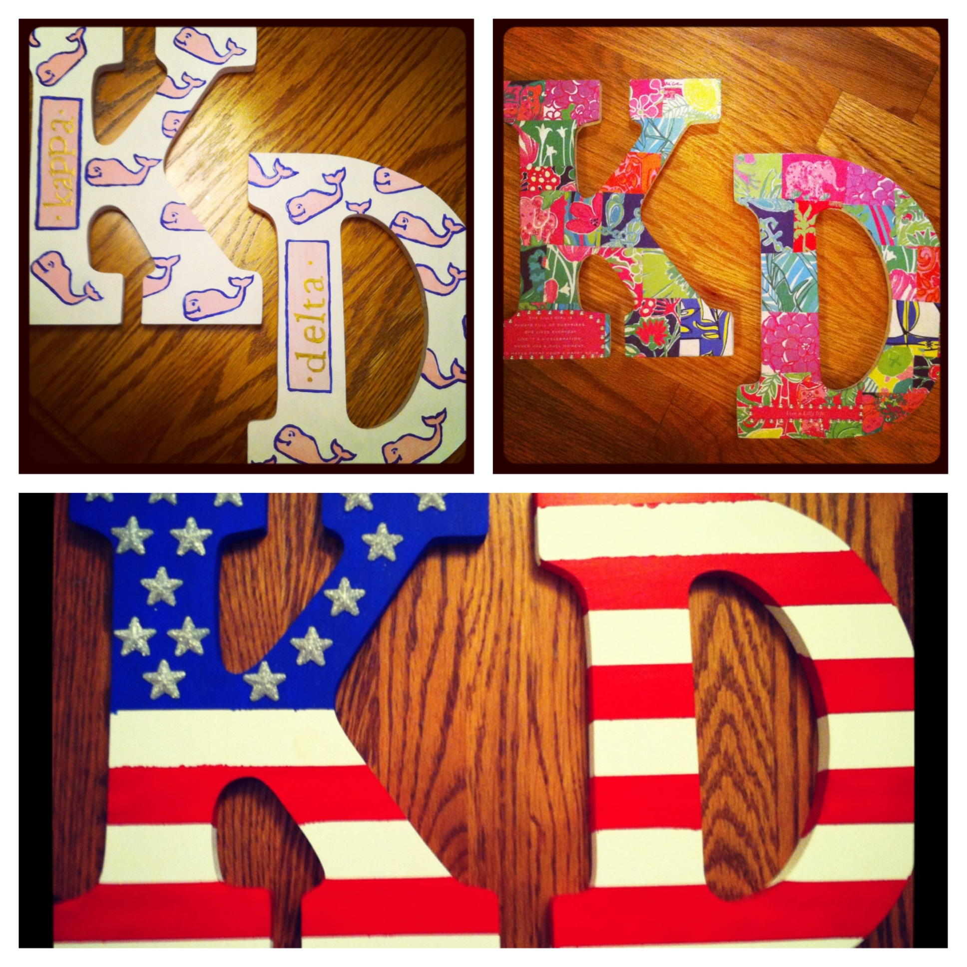 Crafting a pair of letters for every occasion. TSM.
