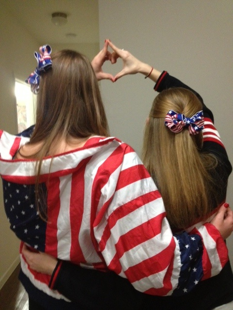 My little loves America more than your little. TSM.