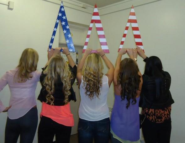 All American Tri-Deltas. TSM.