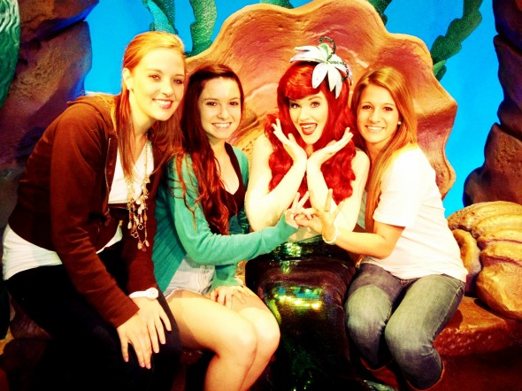 Throwing what we know with our favorite Disney princess. TSM.