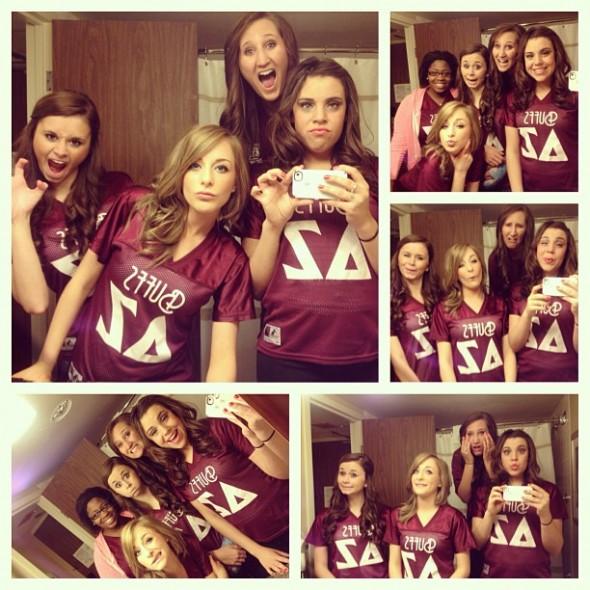 Group selfies. TSM.