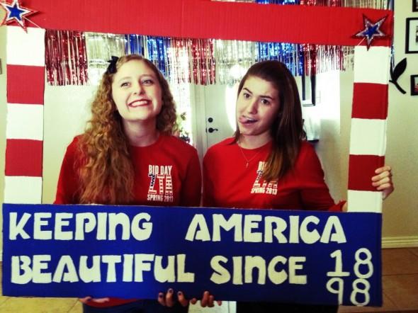 Keeping America beautiful since 1898. TSM.