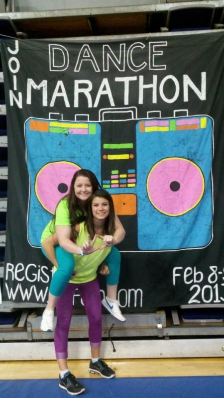 Big/Little Love at Dance Marathon FTK! TSM.