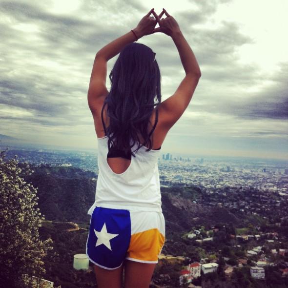 Sisterhood hike = throw what you know. TSM.