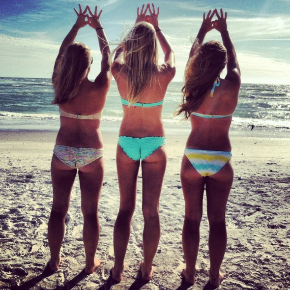 Beaches, bikinis and crowns. TSM.