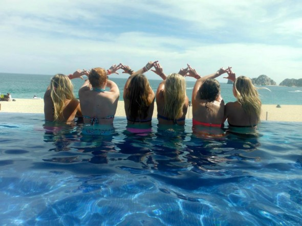 Throw what you know all the way from Cabo. TSM.