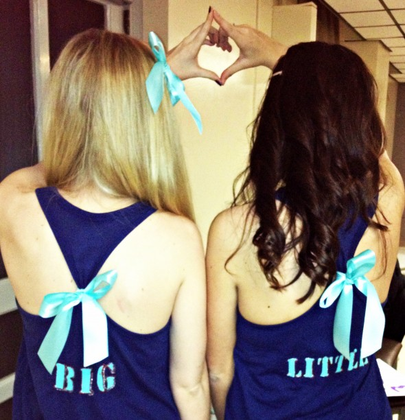 AOII Big/Little reveal at Miami U! TSM.