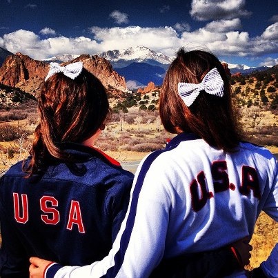 I've got the mountains, I've got the sky, but nothing compares to my Big by my side. TSM.