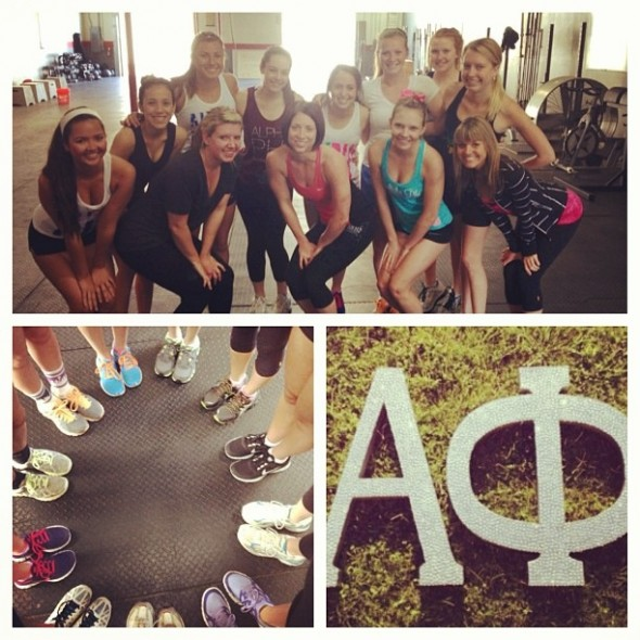 Crossfit sisterhood. TSM.