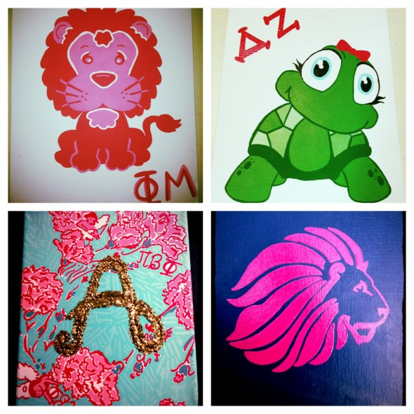 Crafting for my girls no matter their affiliation. TSM.