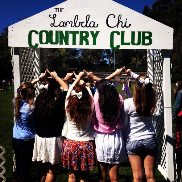 Throwing what we know Country Club style. TSM.