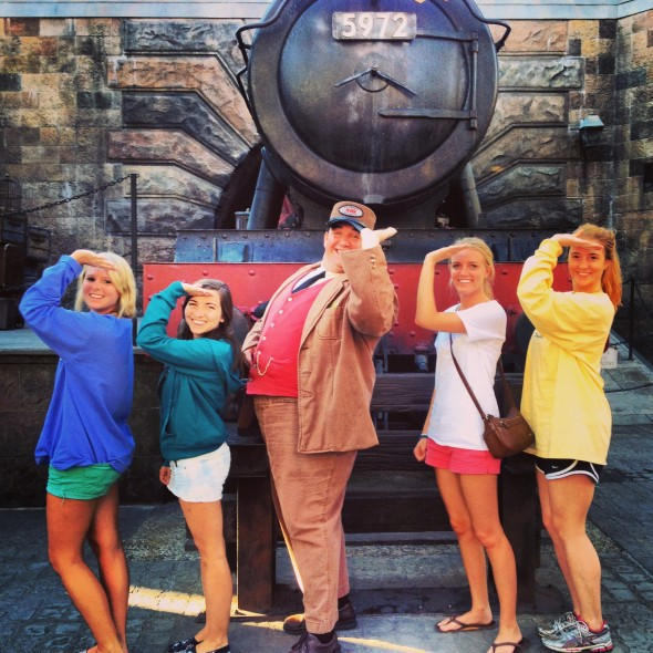 Throwing what we know with the Conductor of the Hogwarts Express. TSM.