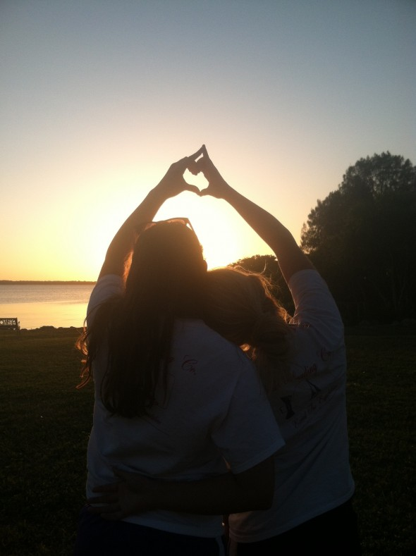 Throwing what you know in the Florida sunset during SB '13. TSM.