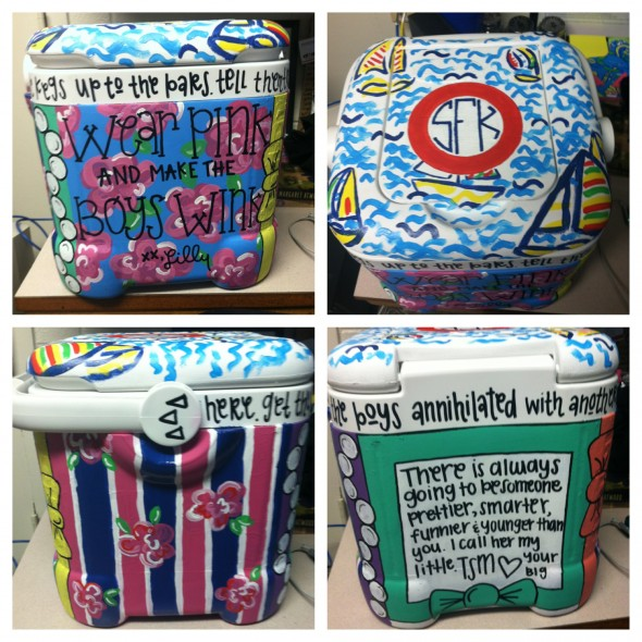 Cooler for my little's birthday. TSM.