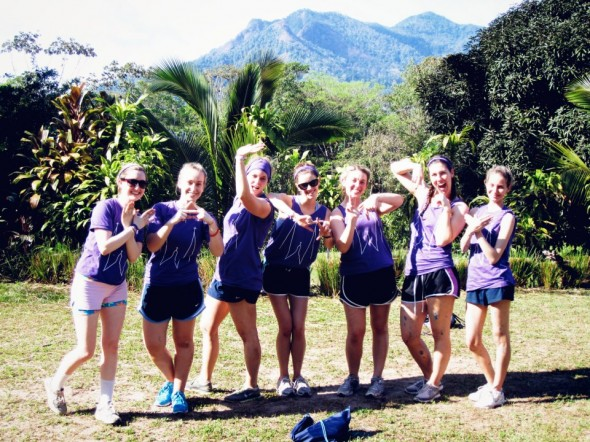 Throwing what we know on our Service Break Trip to Costa Rica! Pura Vida. TSM.