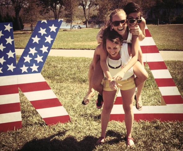 God Bless the USA and Kappa Delta. TSM.