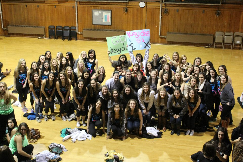 Helping to raise over $68,000 for the Make-a-Wish Foundation during ΣX's Derby Days. TSM.