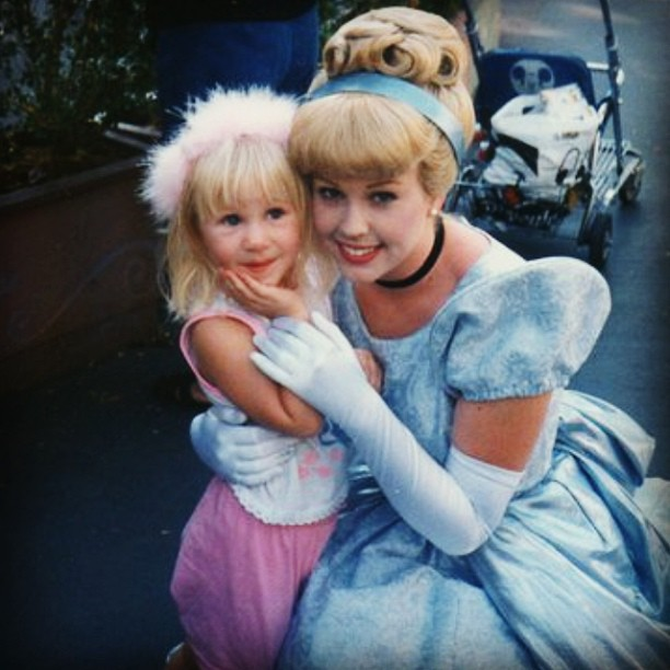 Meeting your childhood idol and knowing you could be a princess one day too. TSM.