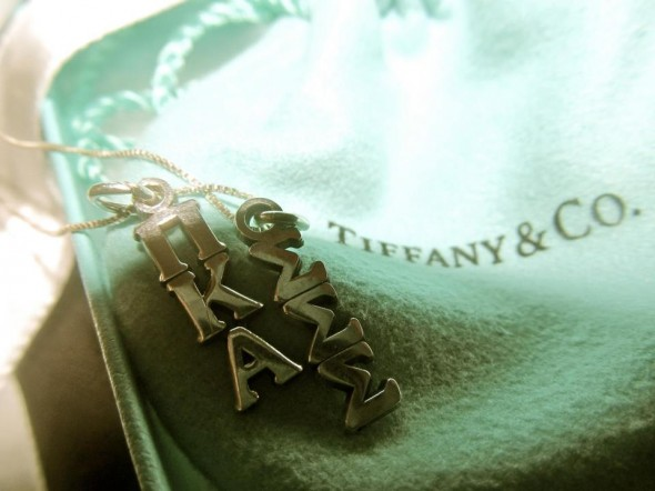 What more can a girl ask for? Her letters, his letters and Tiffany's. TSM.