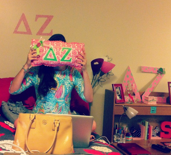 Lilly and Letters. TSM.