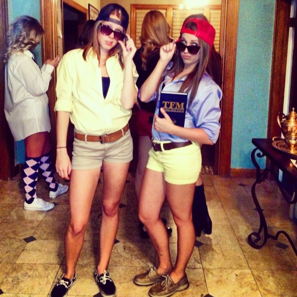Does this outfit make us look frat? TSM.