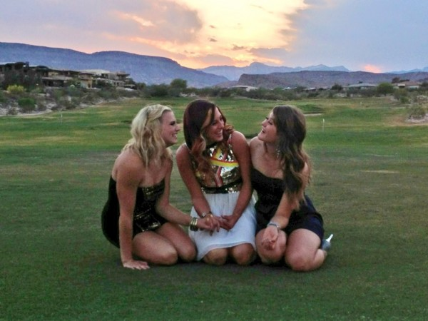 Sharing your favorite fraternity formal with your perfect littles. TSM.