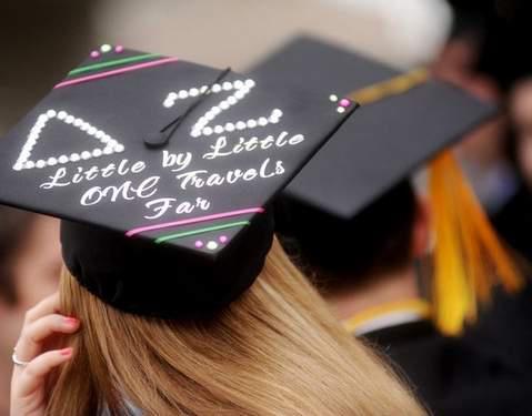 Representing at graduation. TSM.