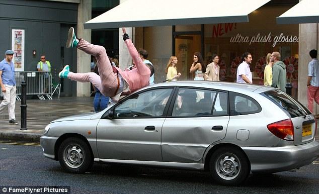 Hit Boyf With Car