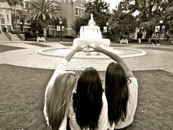 Beautiful campus, beautiful sisters, and a beautiful sorority. TSM.