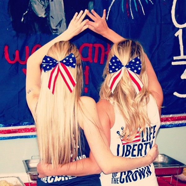 All you need is your Big, bows, and America. TSM.