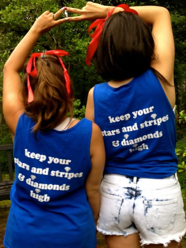 Keep your stars and stripes & diamonds high. TSM.