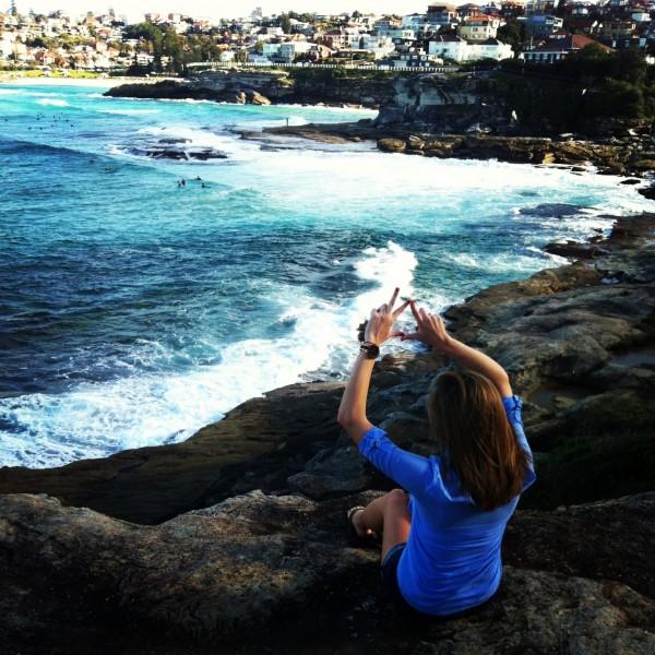 Kappa Delta at Bondi Beach Australia. TSM.