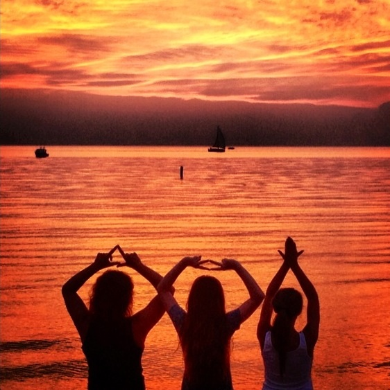 Summer nights, Panhellenic love. TSM.