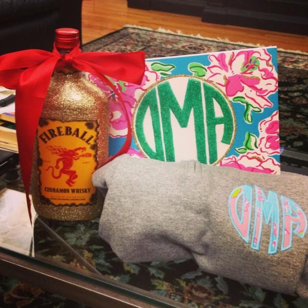 My 21st birthday presents from my big! TSM.