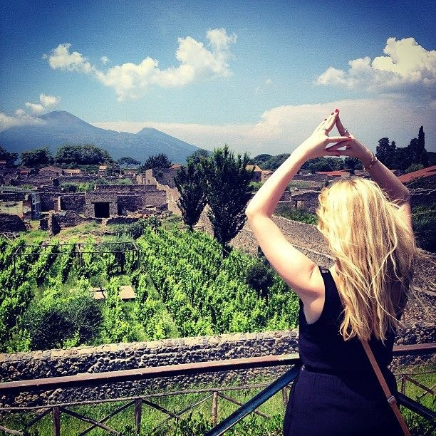 Throwing what you know all the way in Pompeii. TSM.