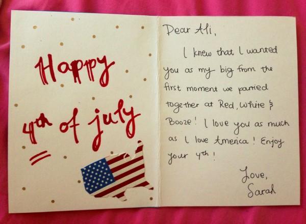 """I love you as much as I love America!"" TSM."