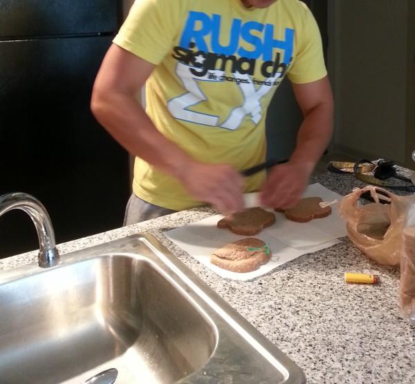 He made me a sandwich. TSM.