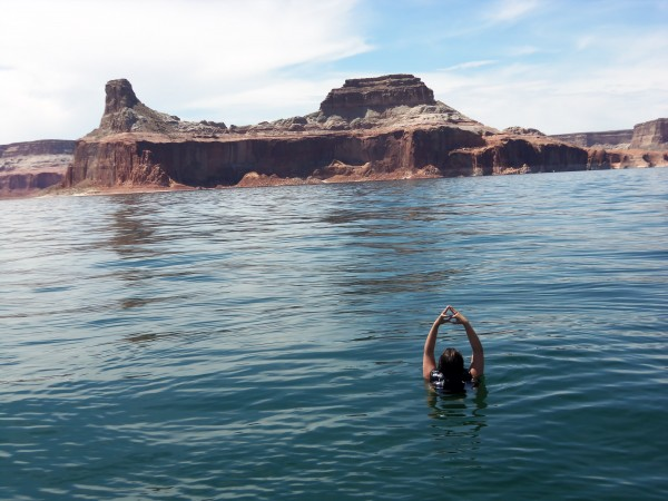 Throwing what I know at Lake Powell. TSM.