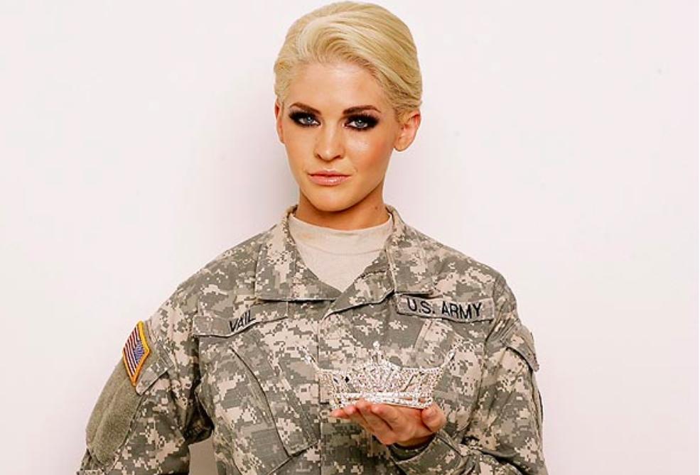 Women out of uniform