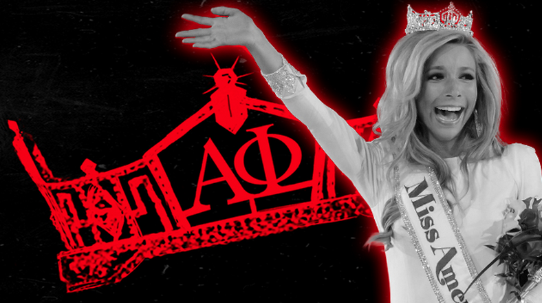Miss America was kicked out of her sorority for hazing.