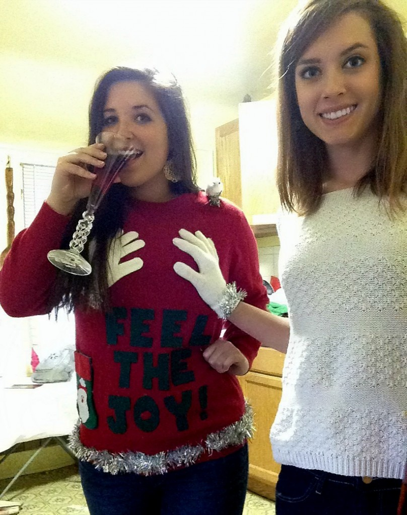 total sorority move making inappropriate christmas sweaters tsm - Inappropriate Christmas Sweaters