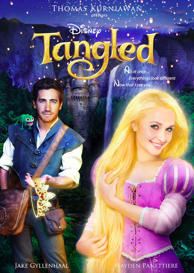 Tangled with prince